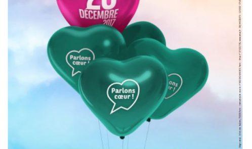 PARLONS CŒUR le mercredi 20 décembre sur toute la journée